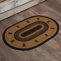 Heritage Farms Star Braided Rug