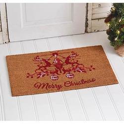 Christmas Reindeer Doormat