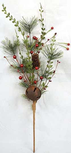 Pine Spray with Red Berries