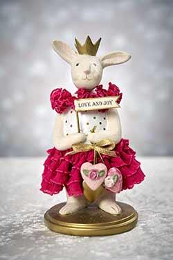 Bambalina - Heather Myers Valentine Bunny