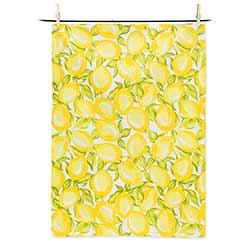 Allover Lemons Tea Towel