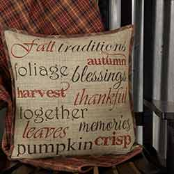 Abilene Harvest Throw Pillow