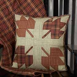 Abilene Harvest Leaf Throw Pillow