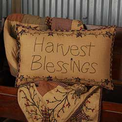 Heritage Farms Harvest Blessings Throw Pillow