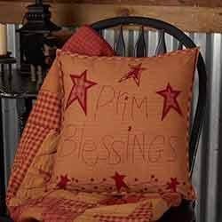 Prim Blessings Pillow