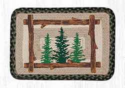Tall Timbers Oblong Printed Placemat