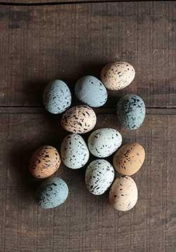 Speckled Spring Eggs (Set of 12)