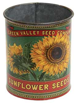 Sunflower Bucket