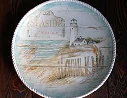 Beach Cottage Round Platter