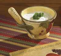 Madeira Dinnerware - Dip Bowl & Spreader Set