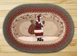 Santa Braided Jute Rug