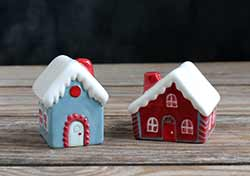 Holiday House Salt and Pepper Shaker Set