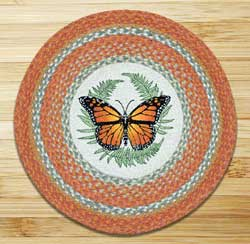 Monarch Braided Jute Rug - Round