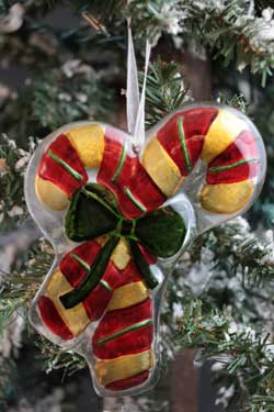 Home Christmas Ornament - Candy Canes