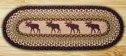 Moose Braided Jute Table Runner - 48 inch