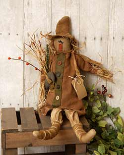 Scarecrow Primitive Doll