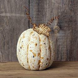 Grungy Ivory Pumpkin