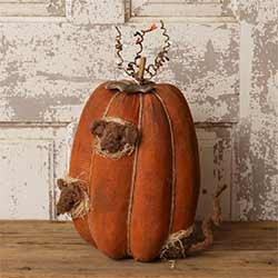 Peeping Mice Pumpkin