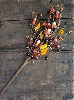Pumpkins & Candy Corn Pick