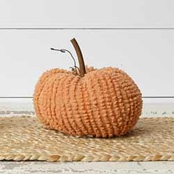 Orange Chenille Pumpkin