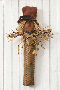 Scarecrow Wall Basket