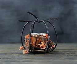 Pumpkin Candle Holder