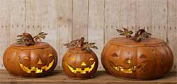 Nesting Pumpkin Set