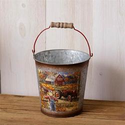 Pumpkin Patch Bucket