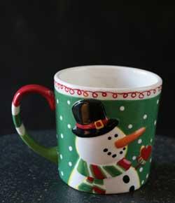 Snowman/Reindeer Mug