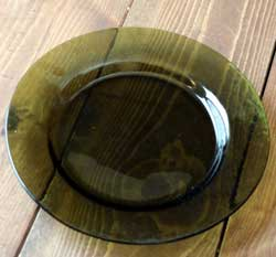 Spruce Small Glass Plate