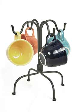 Four Hook Countertop Mug Rack