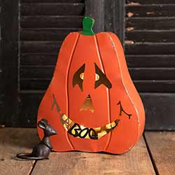 Large Jack O'Lantern Candle Holder