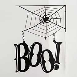 Boo Cutout Bracket Sign