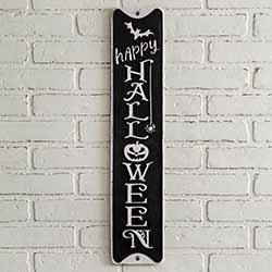 Happy Halloween Tin Sign
