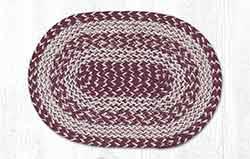 Burgundy Craft-Spun Placemat