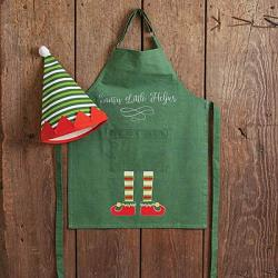 Santa's Little Helper Children's Apron & Hat Set