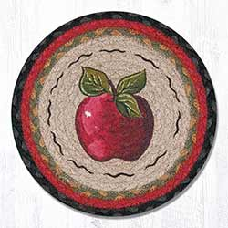 Apple Braided Tablemat - Round (10 inch)