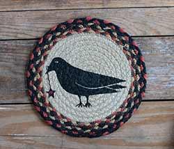 Crow Braided Trivet