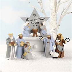 Miniature Nativity Set (Set of 3)