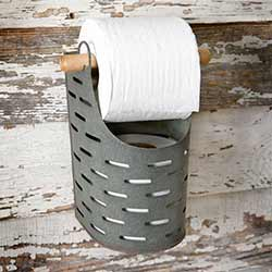 Olive Bucket Toilet Paper Holder