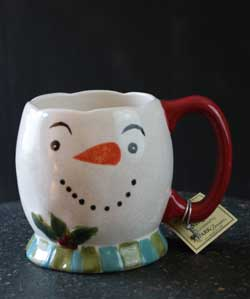 Winter Magic Snowman Mug