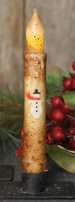 Ivory Snowman Timer Taper
