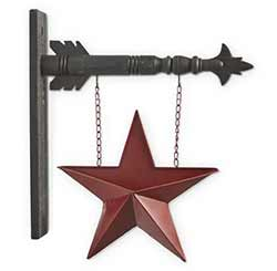 Red Tin Pocket Star Arrow Replacement