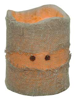 Mummy LED Pillar Candle (3.5 inch)