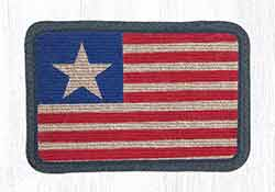 Original Flag Wicker Weave Placemat