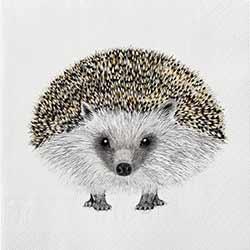 Henry Hedgehog Luncheon Paper Napkins