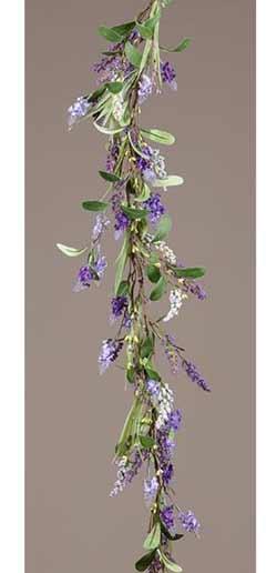 Lavender Flower Floral Garland
