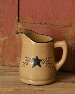 Primitive Black Star Pitcher - Small
