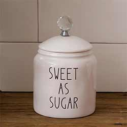 Simple Farmhouse Sugar Canister
