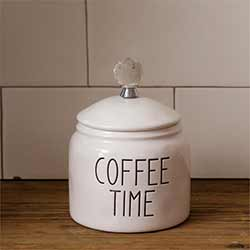 Simple Farmhouse Coffee Canister